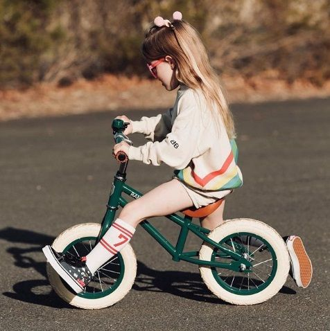 bicicleta banwood verde-lolalikes