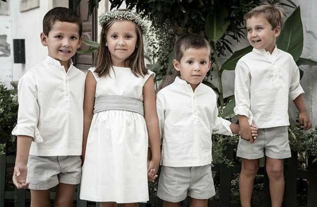 Vestuario ideal para niños de arras o pajes | LolaLikes