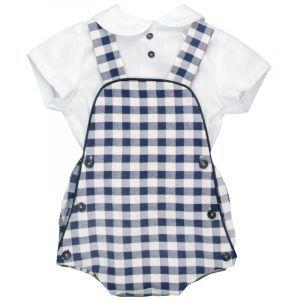Peto bebé con camisa 1 mes a 18 meses