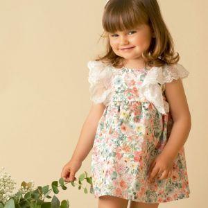 vestido bebe niña flores verano 2020