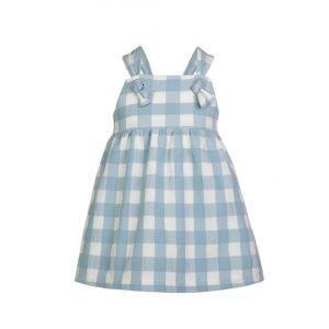 vestido cuadros eve children verano 2020