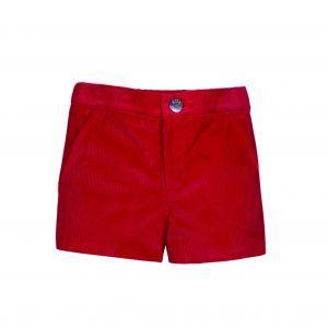 pantalón niño invierno rojo Eve children