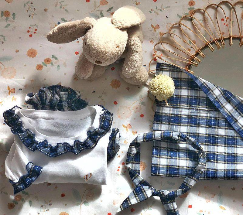 Pijama Bebé Niña Bostezos Algodón Orgánico