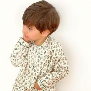 pijama niño algodón organico