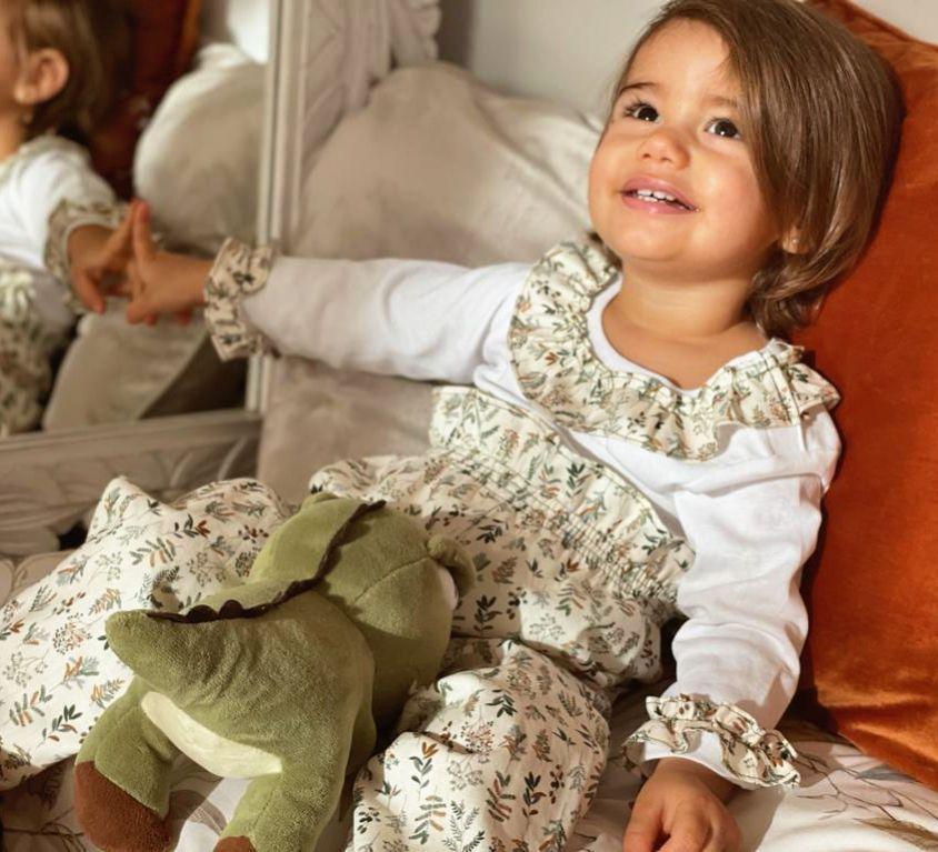 Pijama Bebé Niña Sueños Algodón Orgánico