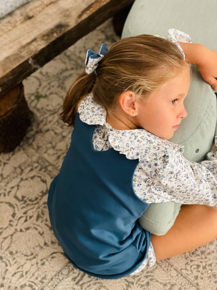 Camisa Niña Pinuccia Azul