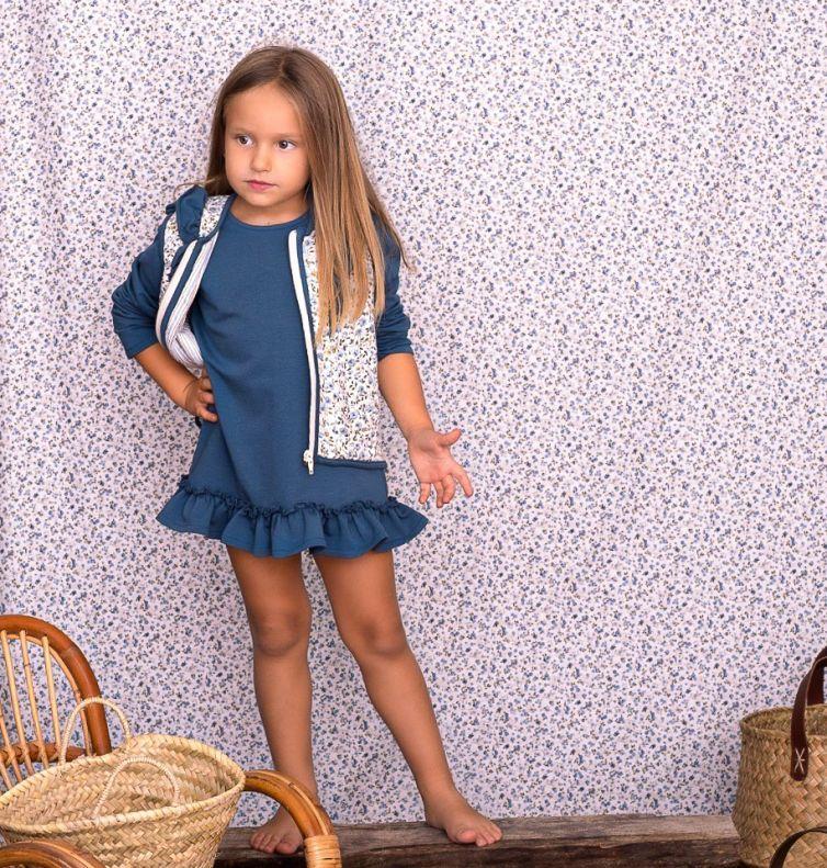 Vestido Giulia Azul