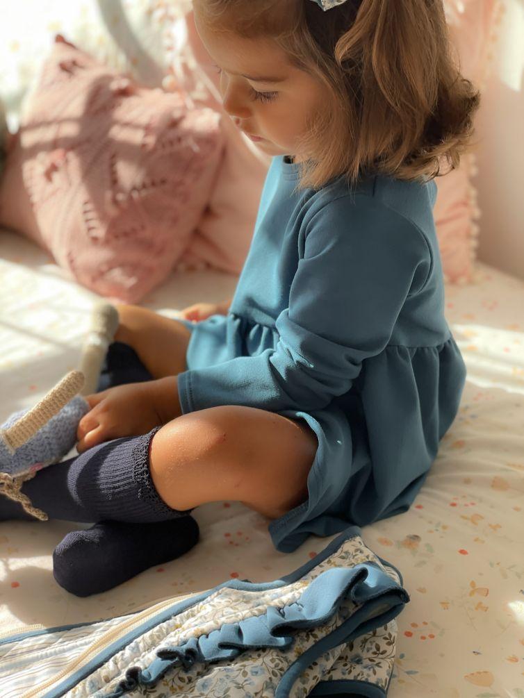 Vestido Daniela Azul